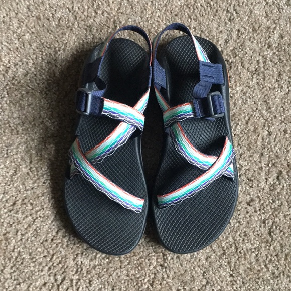 fd084390b190 Chaco Shoes - Z1 Chaco w o Toe Strap in Prism Mint Size 10